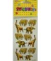 Olifanten stickers