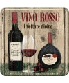 Onderzetter rode wijn