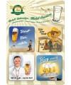 Onderzetters duits bier 4 stuks