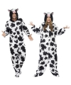 Onesie koe voor volwassenen