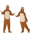 Onesie vos voor volwassenen