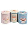 Opbergblik cotton candy rond