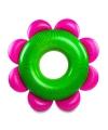 Opblaas bloem zwemband 153 cm