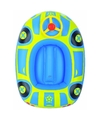 Opblaasbaar peuter kinderbootje auto blauw
