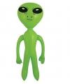 Opblaasbare groene alien 64 cm