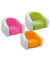 Opblaasbare intex stoel wit groen