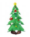 Opblaasbare kerstboom 183 cm