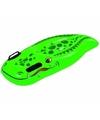 Opblaasbare krokodil zwemplank