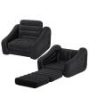 Opblaasbare stoel en luchtbed