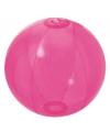 Opblaasbare strandbal fel roze 30 cm