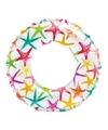 Opblaasbare zwemband sterren 51 cm