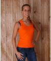Oranje dames t shirt coconut