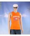 Oranje heren singlet nederland
