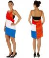 Oranje holland jurkje dames