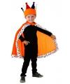 Oranje konings cape voor kinderen