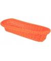 Oranje mandje 37 5 cm