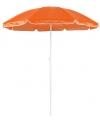 Oranje parasol van nylon