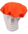Oranje pieten baret voor volwassenen