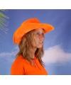 Oranje supporters cowboyhoed