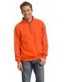 Oranje sweatshirt voor volwassenen
