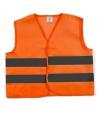 Oranje veiligheidsvest voor kinderen