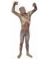 Originele morphsuit zombie voor kinderen