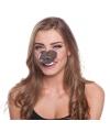 Paarden dierenneus masker voor volwassenen