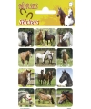 Paarden stickers landschap 3 vellen
