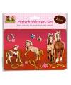 Paarden tekensjabloon 2 stuks