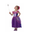Paars prinsessen kostuum voor meisjes