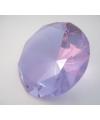 Paarse kristallen diamant 10 cm