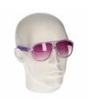 Paarse retro zonnebril type 0176