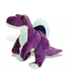 Paarse spinosaurus knuffel 48 cm