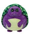Paarse ty beanie ballz knuffel schildpad 12 cm