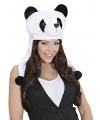 Panda muts voor volwassenen