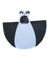 Panda poncho voor kinderen