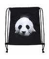 Panda rugtas met rijgkoord