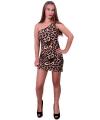 Panterprint jurkje voor dames