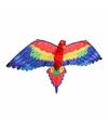 Papegaaien vlieger gekleurd