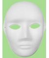 Papier mache masker man