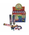 Party popper confetti 20 cm 1x