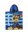 Paw patrol badcape blauw