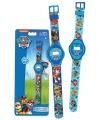 Paw patrol horloge blauw