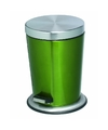 Pedaalemmer rvs 5 liter glanzend groen