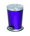Pedaalemmer rvs 5 liter glanzend paars