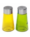 Peper en zout strooiers setje geel groen