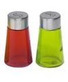 Peper en zout strooiers setje groen rood