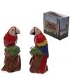Peper en zoutstel papegaaien