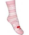 Peppa big meisjes sokken roze