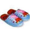 Peppa pig pantoffels blauw